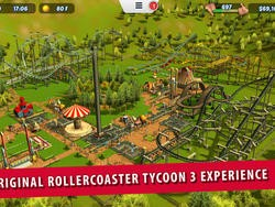 RollerCoaster Tycoon 3 is now out on iOS without microtransactions!