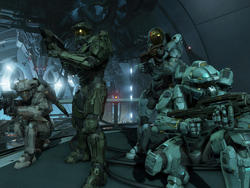 Here's the opening cinematic for one of Halo 5's campaign missions