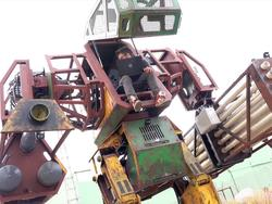 Gundam style: Riding in a giant mech with MegaBots
