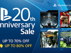 PlayStation throwing a massive sale for 20th anniversary, over 100 titles discounted