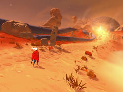 Furi is packed with brutal boss fights, soaked in style