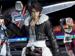 Fire up your Hyrbid Theory! Squall is in Dissidia Final Fantasy
