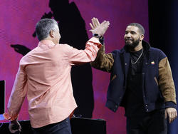 Drake helps make Beats 1 the world's biggest radio station