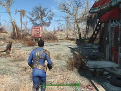 Fallout 4's actual game speed is tied to its framerate on PC, and framerate is capped
