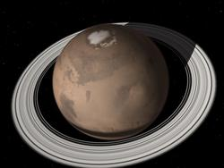 Mars had rings, may have rings in the future