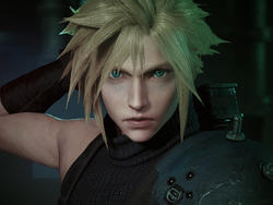 Final Fantasy VII Remake gameplay screenshots - Don't attack when the tail is up!
