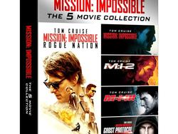 Mission: Impossible Blu-ray Collection giveaway!