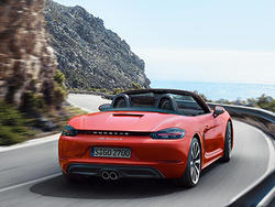 2017 Porsche 718 Boxster and 718 Boxster S pay homage to the flat-four engine