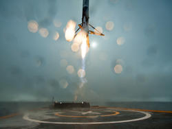 Watch SpaceX (probably) crash its rocket (Update: Aborted)