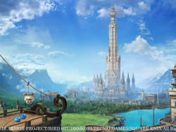 Dragon Quest Heroes II first screenshots - The Towering Tower and the Compensating King