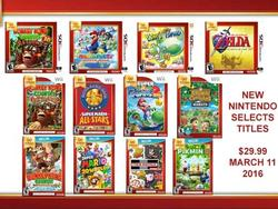 Nintendo Selects line-up brings 3DS, Wii U and Wii titles to North America