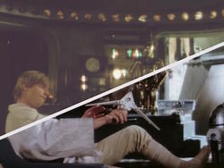 Original film print of Star Wars: A New Hope restored by fans