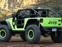 Jeep Wrangler Trailcat sports a 707-HP Hellcat engine - 6 other concepts unveiled