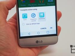 Don't panic: The LG G5 does have an app drawer
