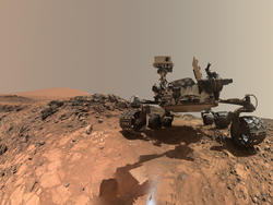 Life on Mars? Curiosity reaching crater with potential for past life