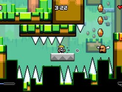 Like Mutant Mudds? Like tough games? Check out Mutant Mudds Super Challenge