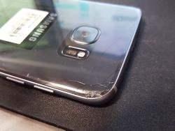 Sad! - This dude already shattered his brand new Galaxy S7 Edge