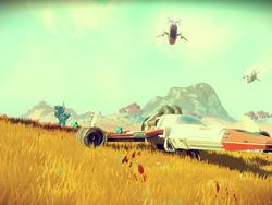 No Man's Sky isn't even out yet and the devs are almost done with the first big update