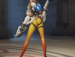 """Overwatch's controversial """"butt pose"""" replaced with a new """"butt pose"""""""