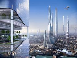 Life in the year 2116? Drones, Earthscrapers and a colonized moon