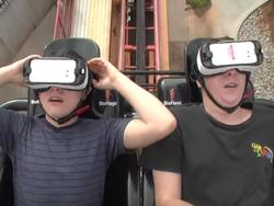 Six Flags VR roller coaster looks insanely amazing in new video