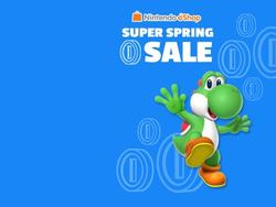Nintendo hosting a Spring Sale on both the Wii U and 3DS