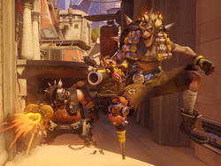 Overwatch's Junkrat and Roadhog digital comic short is up, and it's pretty good