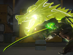Overwatch: Genji's sword made in real life, and it looks awesome