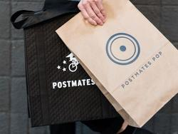 Postmates picked a perfect day to launch Postmates Pop food delivery in NYC