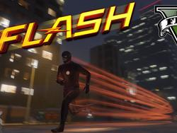 The Flash speeds his way into GTAV with this awesome mod