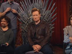Watch Conan play Overwatch with Peter Dinklage and Lena Headey from Game of Thrones