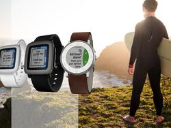 Pebble continues health kick in latest update
