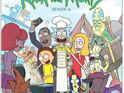 Rick and Morty: The Complete Second Season Giveaway!