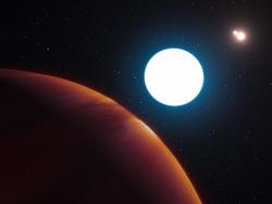 Scientists are stumped by this exoplanet orbiting three suns