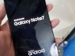 Alleged Galaxy Note 7, powered on, appears in huge hands-on gallery