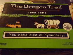 Oregon Trail Card Game spotted at Target - I need this right now