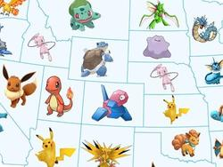What is the most sought after Pokémon in each state?