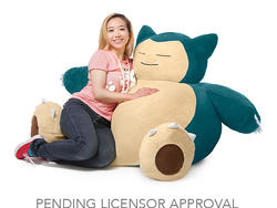 Take a nap on a Snorlax beanbag chair for just $150!