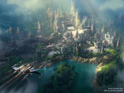 Star Wars Land looks incredible in new concept image