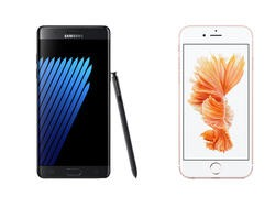 Galaxy Note 7 vs. iPhone 6s Plus specs shootout - Battle of the phablets