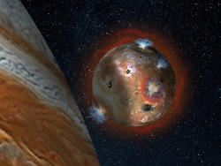Jupiter's volcanic moon Io's atmosphere collapses when in planet's shadow, says NASA