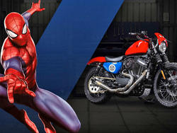 Marvel teams up with Harley-Davidson on incredible new motorcycle designs