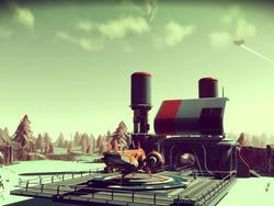 Two No Man's Sky players met but couldn't see each other because of server problems
