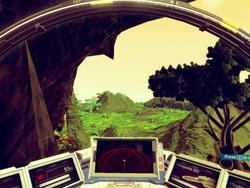 This No Man's Sky mod lets you fly closer to the ground, into caves, below water