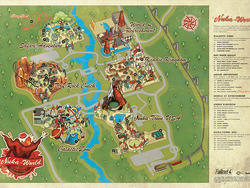Fallout 4's Nuka-World map looks straight out of Disney World