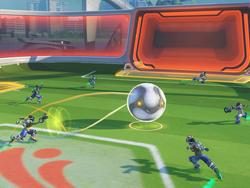 Overwatch: Player gets D.Va into a game of Lúcioball