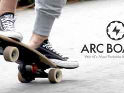 Arc Board: Kickstart this lightweight electric skateboard