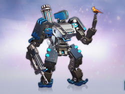Want this Bastion skin for Overwatch? You'll have to attend BlizzCon X