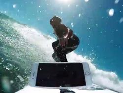 Surfer tests iPhone 7 and iPhone 7 Plus in the ocean, but don't try this at home