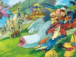 Capcom coughs up Monster Hunter Stories for the English-speaking world